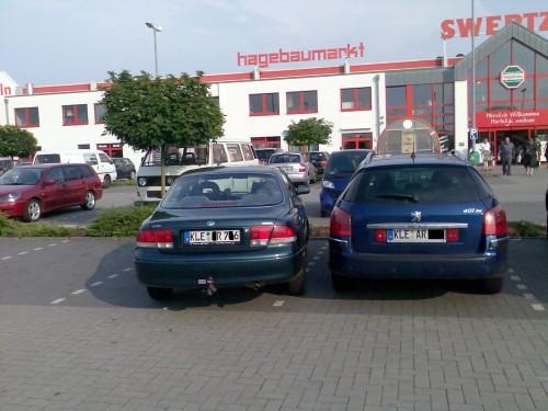 So parken Klever und Zugezogene